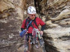 Rock Climbing Photo: got gear