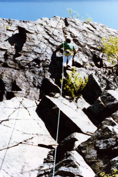 Double Traverse Straight Up - back in 1988
