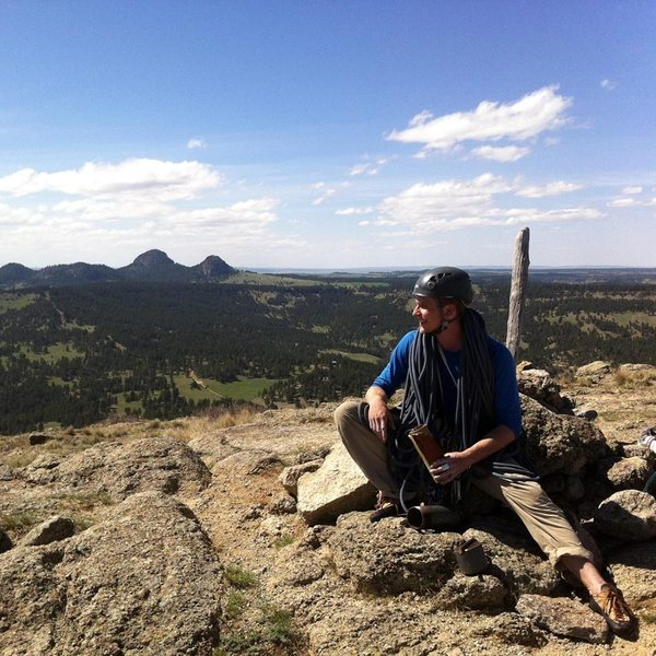 summit of devils tower