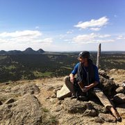Rock Climbing Photo: summit of devils tower