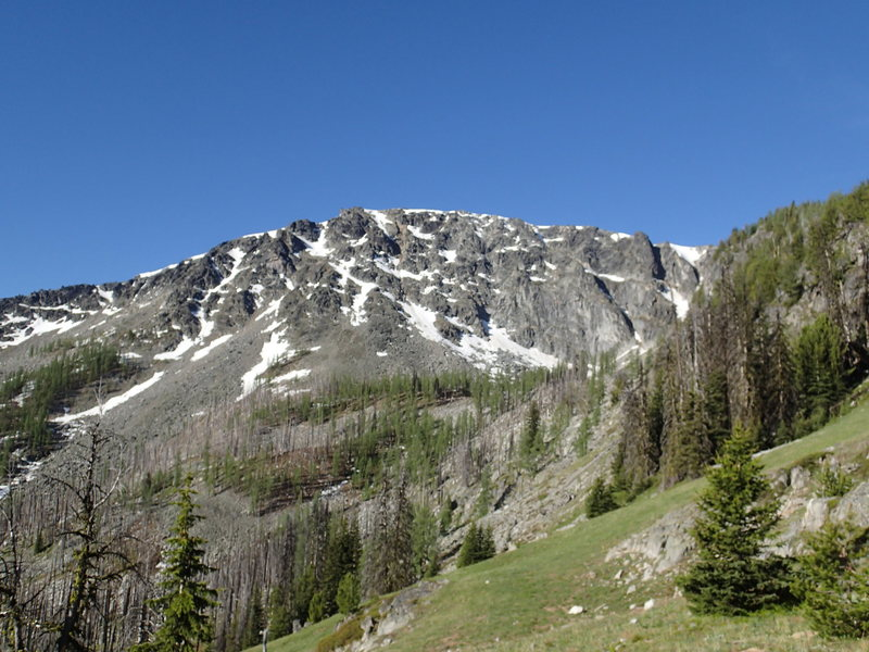 North Face from Honeymoon Pass