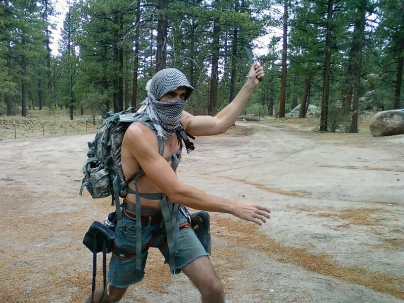 Beware of the Holcomb Valley Ninja Special Forces.  They will knife your ass.