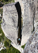 Rock Climbing Photo: Around the corner to the looker's left of the main...