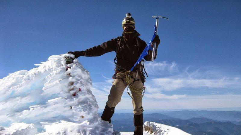 Top of Mt. Adams