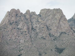 Rock Climbing Photo: Card Deck and Lambda Wall as seen from the west.