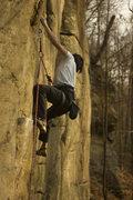Rock Climbing Photo: Priaprism