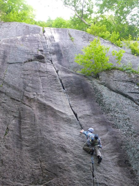 Rock Climbing Photo: Love this route....
