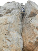 Rock Climbing Photo: khasab crack