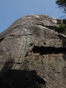 "Rock Climbing Photo: Rope on ""the Trunk"""