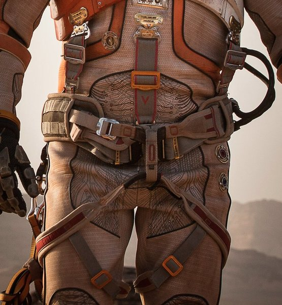 Here is a front view of the harness.