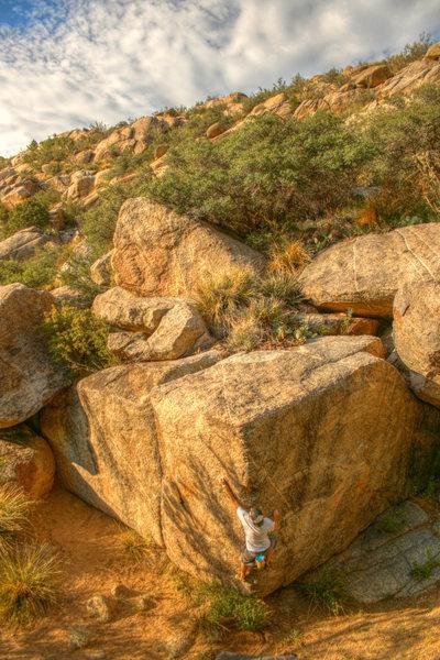 Rock Climbing Photo: HDR of Free Cap'n