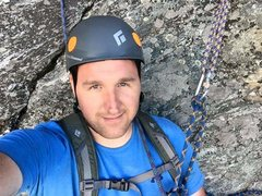 Rock Climbing Photo: Me hanging out at the belay