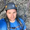 Me hanging out at the belay<br>