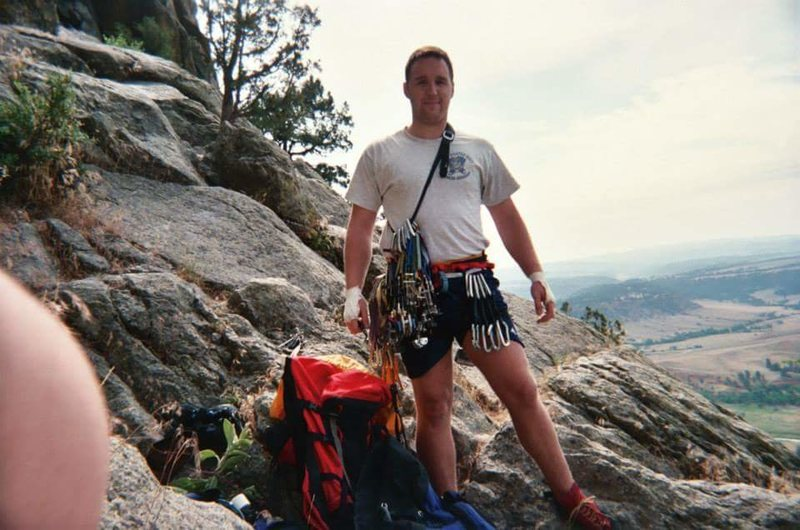 I'm getting old.  13 years ago on the Durrance route back in my prime.