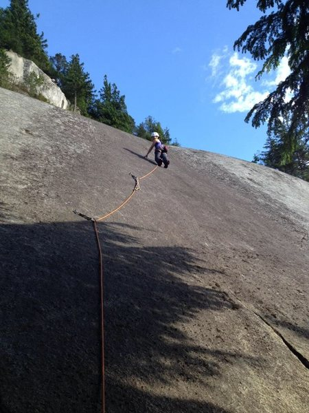 Rock Climbing Photo: Mighty mouse 10d 3p, squamish chief