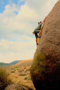 Rock Climbing Photo: The best warm up