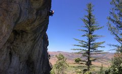 Rock Climbing Photo: F6c