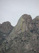 Rock Climbing Photo: Card Deck as seen from Baylor Canyon Road. Joker's...