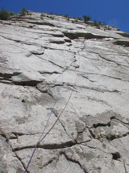 Rock Climbing Photo: Start of the route.