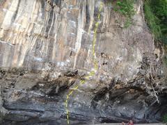 Rock Climbing Photo: The spiciest line in Thailand