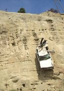 Rock Climbing Photo: All illegally parked cars will be towed at vehicle...