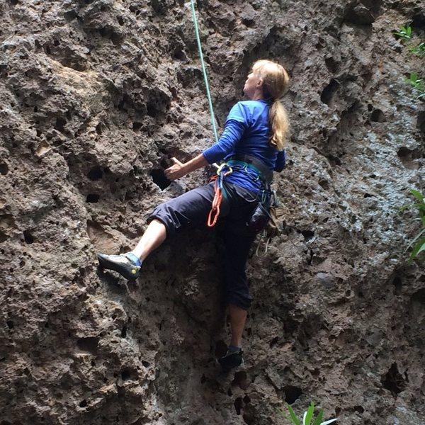 "Rock Climbing Photo: Enjoying ""4th of July"" sans the crowds."