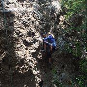 Rock Climbing Photo: Enjoying another 4th of July.