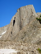 Rock Climbing Photo: No Climb for Old Men follows the left arete in fro...