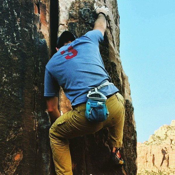 Bouldering in Zion