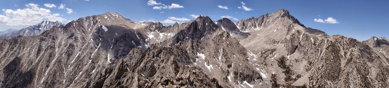 Rock Climbing Photo: pano from Independence Peak