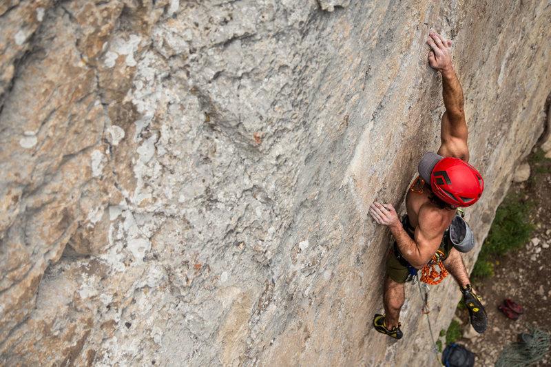 Rock Climbing Photo: Muy Macho, Blacktaill Butte