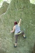 Rock Climbing Photo: Boulder the gods 6/14/15