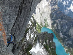 Rock Climbing Photo: Low on West Face