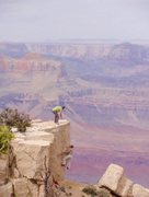 Rock Climbing Photo: Grand Canyon Limestone!!! :)