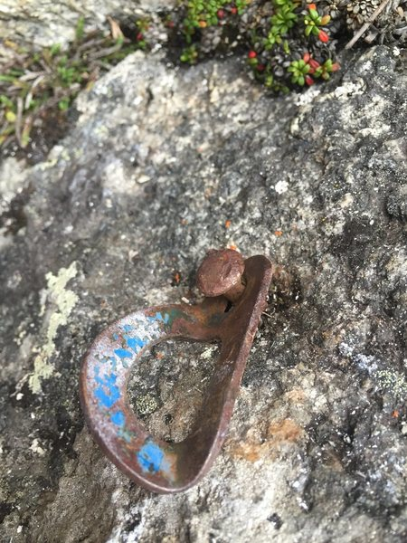 Rock Climbing Photo: Relic on Toto (5.7)