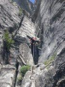 Rock Climbing Photo: Pitch #1