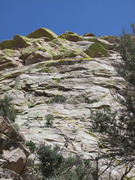 Rock Climbing Photo: Mad Cow route. We did the top, right-traverse port...