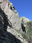 Rock Climbing Photo: Another view of the Keyhole from the east, this ti...
