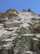Rock Climbing Photo: Rightmost formation, past the pinnacle.