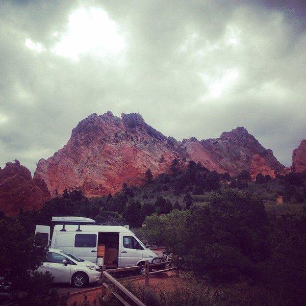 Rock Climbing Photo: Van Living