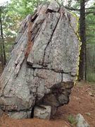 Rock Climbing Photo: Orange Fork Arete is depicted.