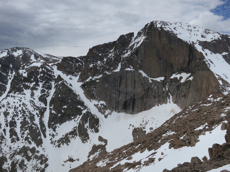 East Face of Long's, 6.14.2015.