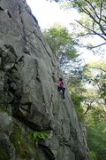 Rock Climbing Photo: It's actually a decent size climb...too bad most o...