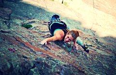 Rock Climbing Photo: Pitch 2.