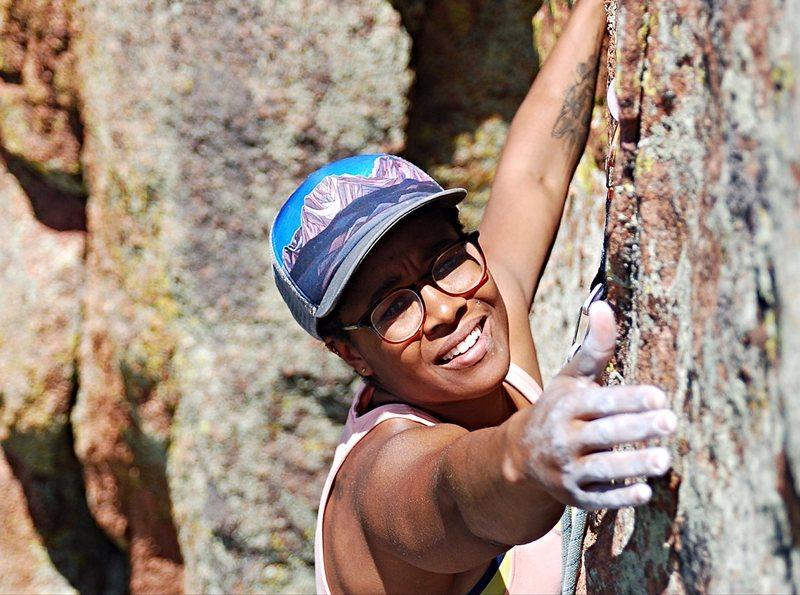 Rock Climbing Photo: Topaz, Devils Head.