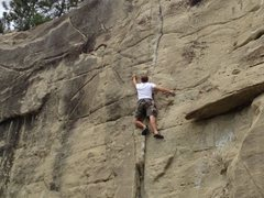 Rock Climbing Photo: Getting Faced