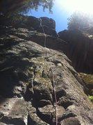 Rock Climbing Photo: Head-on view of Dreamland