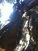 Rock Climbing Photo: Upper portion of Shape Shifter