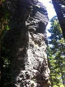 Rock Climbing Photo: Front-facing view of ET (Extra Trad) from the  bel...