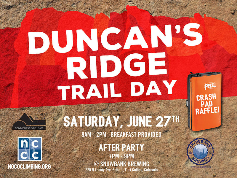 Duncan's Ridge Trail Day.
